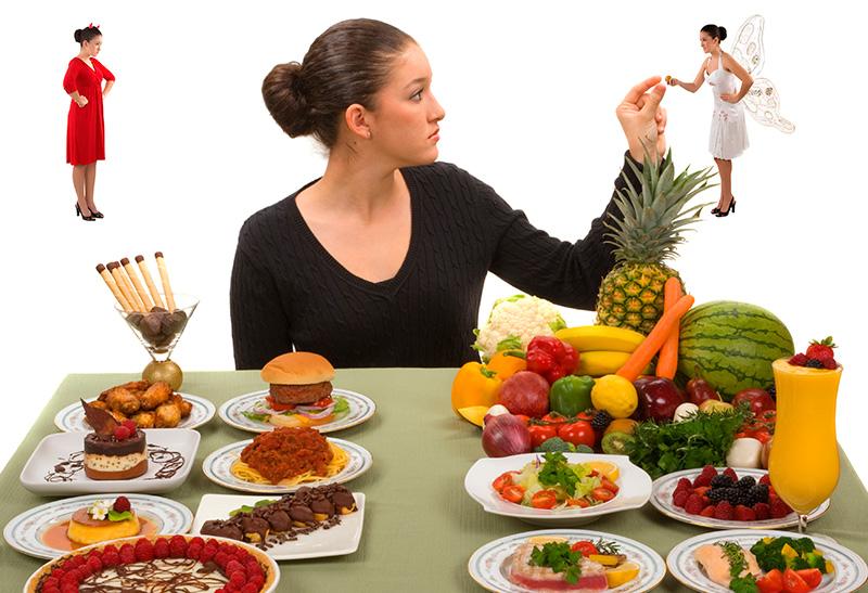 Dieta e sentimento de privação