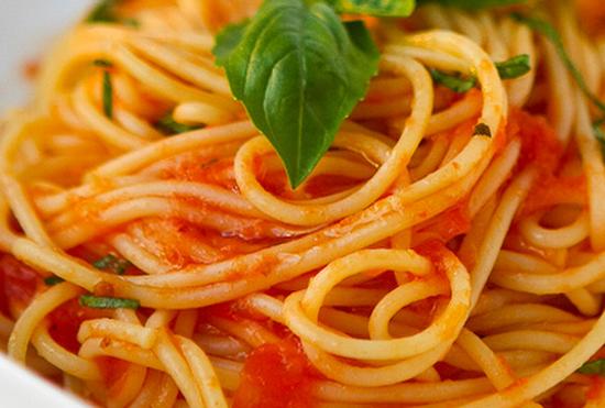 Macarrão é um alimento gostoso e saudável
