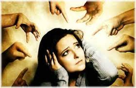 A culpa torna as pessoas indefesas e sem ação