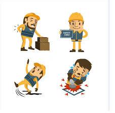Seis Categorias de Acidentes no Trabalho