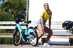 Magalu e bikes azuis chegam ao Rio