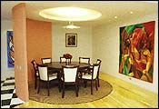 Um projeto redondinho para sala de jantar e suíte