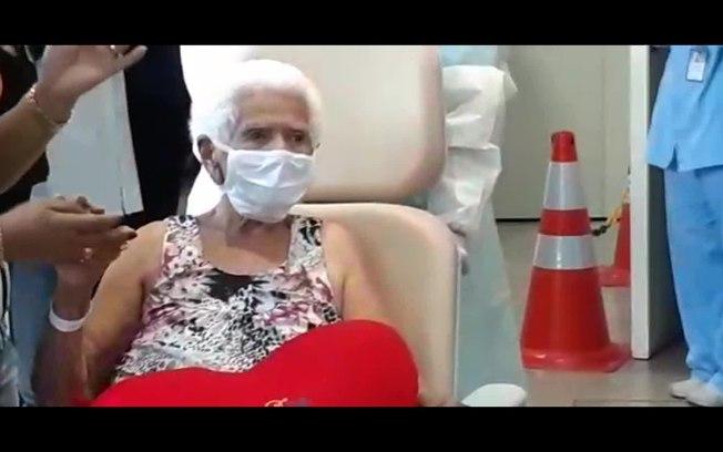 Mulher de 101 anos se recupera de Covid-19