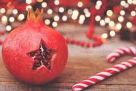 Frutas e frutos do Natal