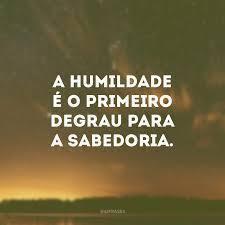 A importância da Humildade