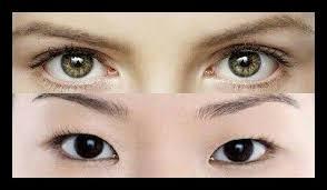 Olhos quadrados