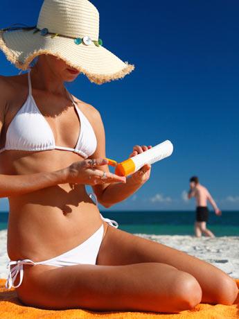 Cuidado com o excesso de exposição ao sol