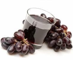 Suco de uva faz bem ao coração